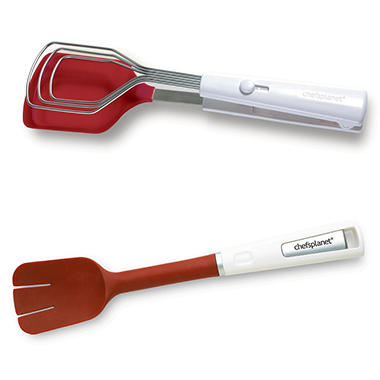 Chef's Planet Better Tongs and Better Spatula Combo Set
