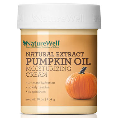Nature Well Pumpkin Oil Moisturizing Cream (16 oz.)