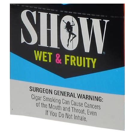 Show Wet & Fruity Cigarillos, Pre-priced 5 for $1 (5 ct., 15 pk.)