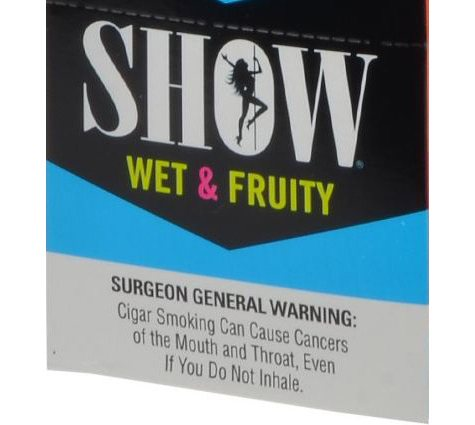 Show Wet & Fruity Cigarillos, Pre-priced 5 for $1 (5 pk., 15 ct.)