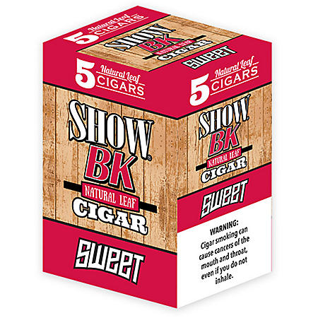 Show BK Natural Leaf Cigar Sweet (5 ct., 8 pk.)