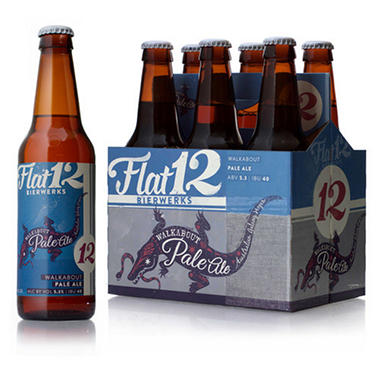 Flat 12 Walkabout Pale Ale (12 fl. oz. bottle, 6 pk.)