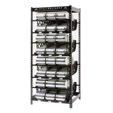 """Shelf Reliance Plenty Food Rotation System - 72"""""""
