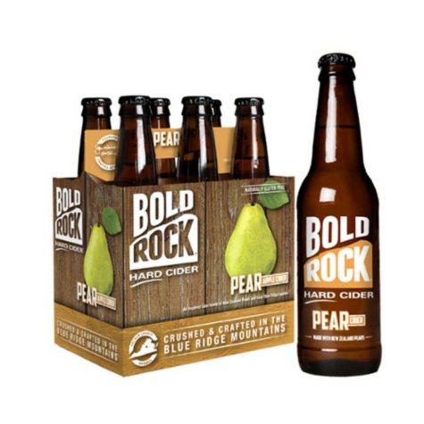 Bold Rock Hard Pear Cider (12 fl. oz. bottle, 6 pk.)