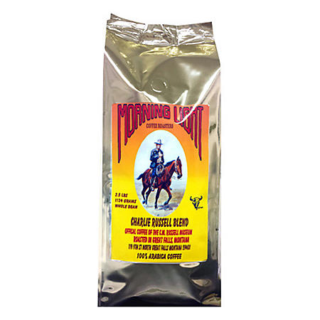 Morning Light Charlie Russell Blend Whole Bean Coffee (2.5 lbs.)