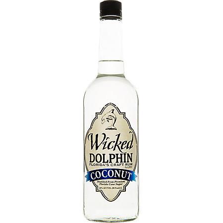 Wicked Dolphin Coconut Rum (750 ml)