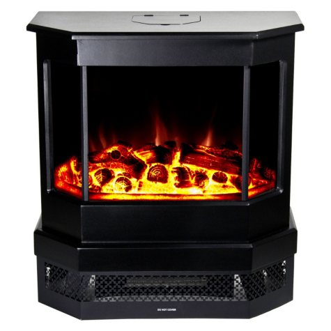Frigidaire CMSF-10310 Cleveland Floor Standing Electric Fireplace - Black