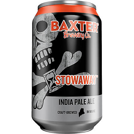 BAXTER STOWAWAY IPA 6 / 12 OZ CANS