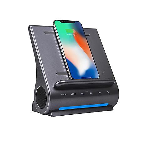 Azpen DockAll D108 Qi Wireless Fast Charging Sound Hub
