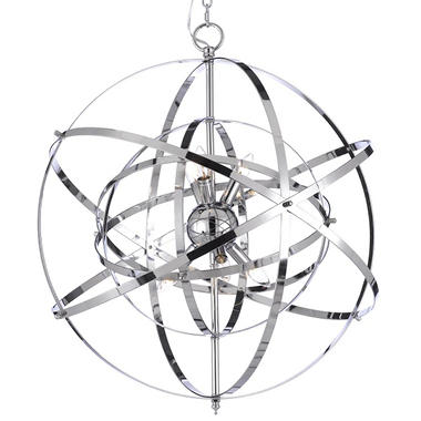 Harrison Lane Orb 6-Light Chandelier