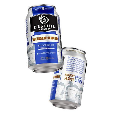 Destihl Brewery Weissenheimer Hefeweizen (12 fl. oz. can, 6 pk.)