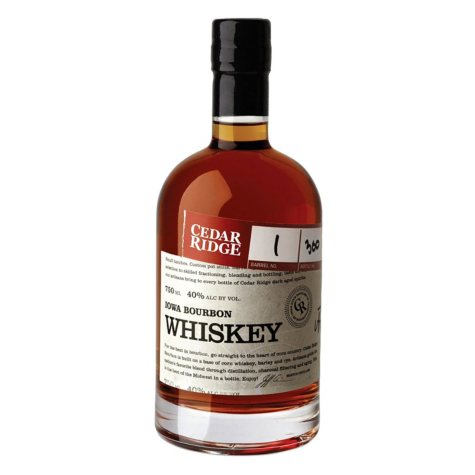 Cedar Ridge Iowa Bourbon Whiskey (750 ml)