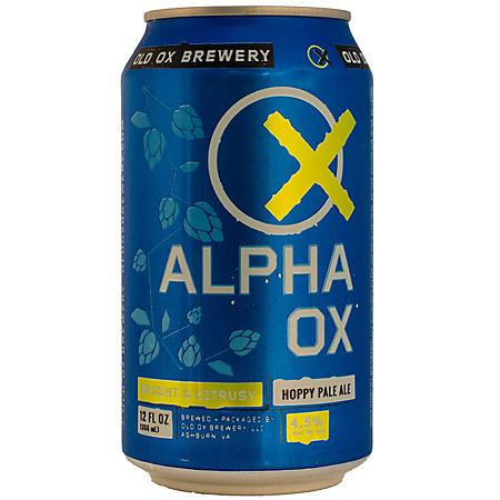 Old Ox Alpha Ox Hoppy Pale Ale (12 fl. oz. can, 6 pk.)