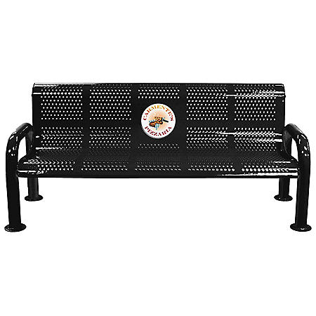 Leisure Craft Personalized Sublimated Perforated U-Leg Bench (Various Colors)