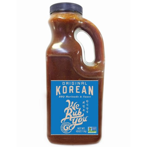 We Rub You Original Korean BBQ Marinade (43 oz. jug)