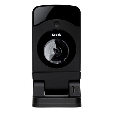 Kodak CFH-V20 - 720p Wi-Fi HD Video Monitoring Security Camera with 180 Degree Field of View and Cloud Storage