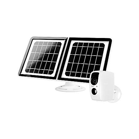 Tend Lynx Solar Outdoor WiFi Security Camera w/ Solar Panel & Night Vision