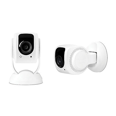 Tend Secure Lynx 1080p HD Wi-Fi Indoor Security Camera (2-pack)