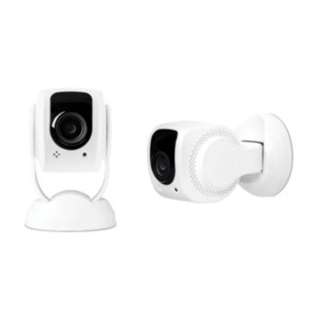 2-Pack Tend Secure Lynx Indoor 1080p HD Wi-Fi Security Camera