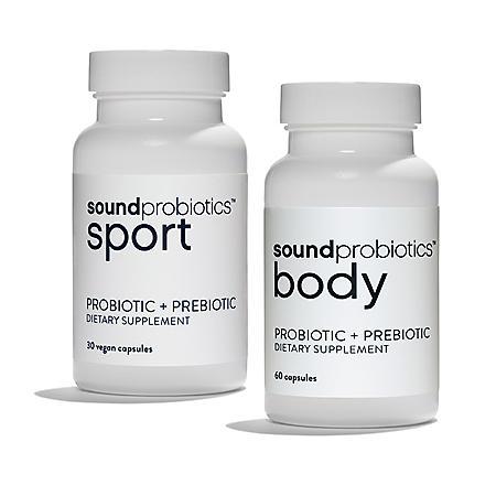 Sound Probiotics Ultimate Fitness Sport and Body (2 pk.)