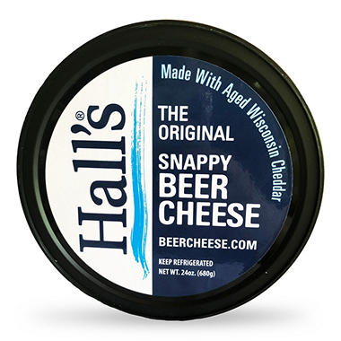Hall's The Original Snappy Beer Cheese (24 oz.)