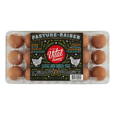 Alfresco Pasture-Raised Large Brown Eggs (18 ct.)