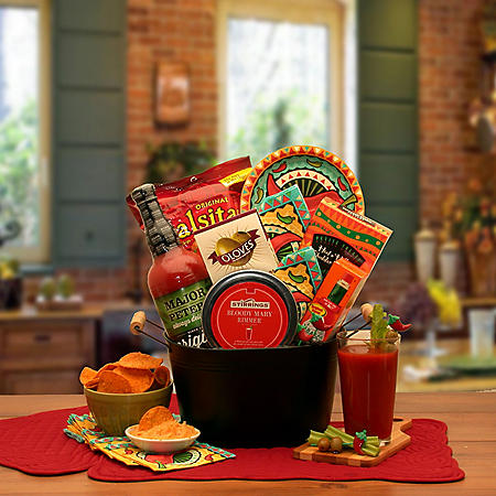 Bloody Mary Mixer Gift Basket