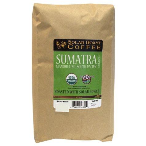 Solar Roast Premium Whole Bean Coffee (2 lbs.)
