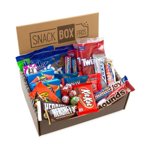 Hershey's, the Sweetest Box on Earth Snack Variety Box