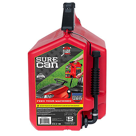 SureCan 5-Gallon Portable Gasoline Can