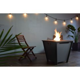 Groovebox Propane Fire Table