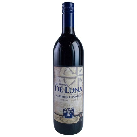 De Luna Blueberry Explosion Specialty Wine (750 ml)
