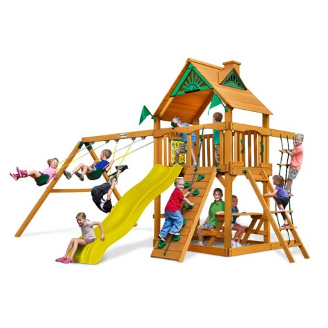 Gorilla Playsets Sunbeam Cedar Swing Set