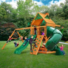 Gorilla Playsets Westbrook Cedar Swing Set Sam S Club