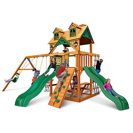 Gorilla Playsets Hawthorne Cedar Swing Set