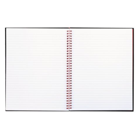 Black n' Red - Twinwire Hardcover Notebook, Legal Rule, 8-1/2 x 11, White - 70 Sheets