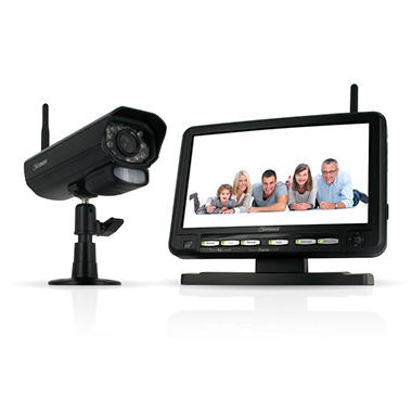Defender Digital Wireless DVR Security System with 7