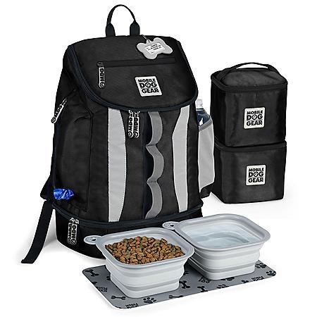 Mobile Dog Gear Drop Bottom Weekender Backpack (Choose Your Color)