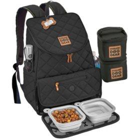 Overland Dog Gear Weekender Backpack, Choose from Black or Pink