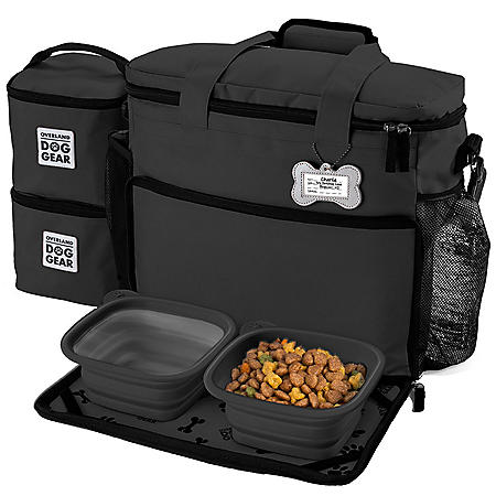 Overland Dog Gear Week Away Travel Bag for Medium/Large Dogs (Choose Your Color)