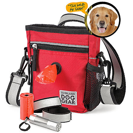 Overland Dog Gear Day/Night Walking Bag (Choose Your Color)