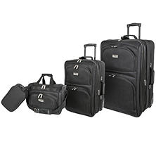 Geoffrey Beene Luggage 4-Piece Set