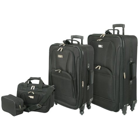 Geoffrey Beene Spinner Wheel 4-Piece Luggage Set