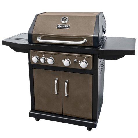 Dyna-Glo Bronze 60,000 BTU 4-Burner LP Gas Grill