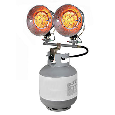 Dyna Glo Delux Double Tank Top Propane Lp Heater 9k