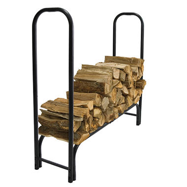 Pleasant Hearth Heavy Duty Log Rack - 4'