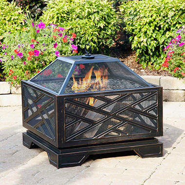 Pleasant Hearth Martin Extra Deep Fire Pit - 26