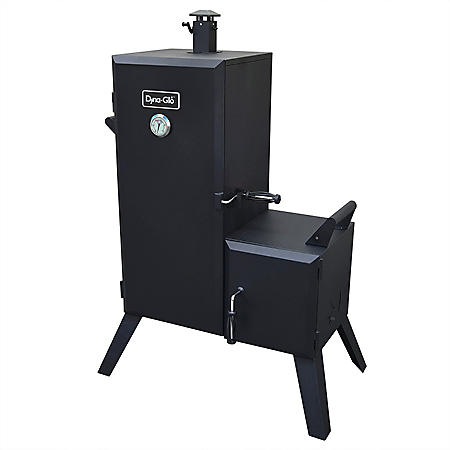 Dyna-Glo Vertical Offset Charcoal Smoker - 1,175 Sq In