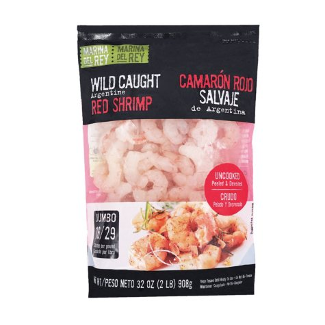 Wild Caught Argentine Red Shrimp (2 lbs.)