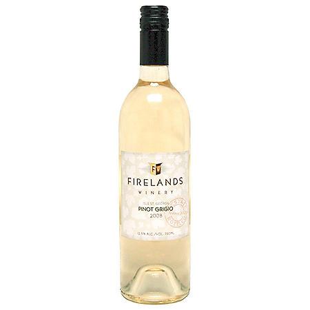 Firelands Winery Pinot Grigio (750 ml)